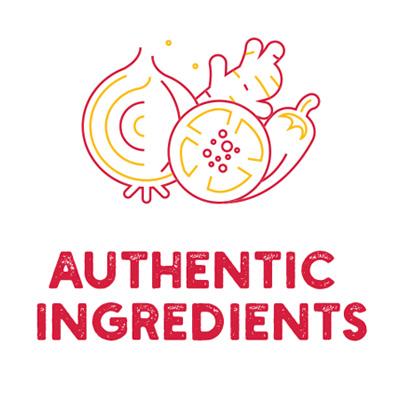Authentic Ingredients