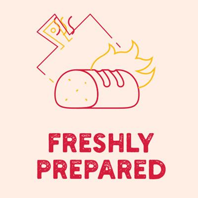 Freshly Prepared
